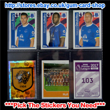 Merlin's Premier League 2017 (100 to 199) *Select the Stickers You Need*