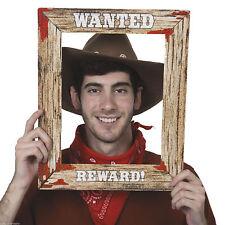 "17"" Wild West voleva Poster Cornice Foto di scena Cowboy Western Festa 49630"