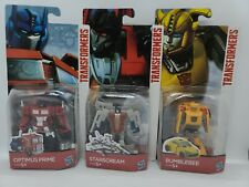 Transformers 2 in 1 LOT Optimus Prime Bumblebee Starscream NEW HASBRO