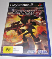 Shadow The Hedgehog PS2 PAL *Complete* Sonic