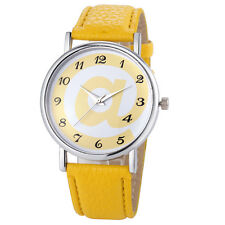 Women's Fashion Style Analog Leather Quartz Wrist Watch Bracelet Sports Watches