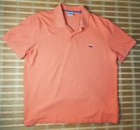 Brooks Brothers Orange Cotton Original Fit Performance Polo Shirt XXL Fast Ship