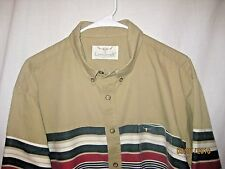 Longhorn By Niver Western Wear Size L Long Sleeve Button Up Shirt