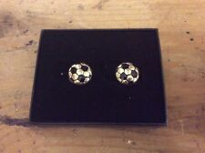 Football Cufflinks A Great Gift, New In A Presentation Box