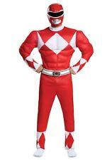 Men's Power Rangers Red Ranger Muscle Costume