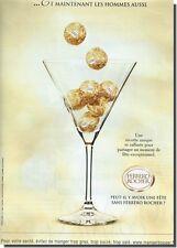 Publicité Advertising 2010 - FERRERO ROCHER (advertising paper)