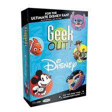 Geek Out! Disney  Age10+   2+ Players  30+ minutes