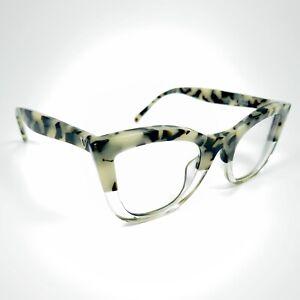 Valley Eyewear Ludwig Black Indio Tort / Clear Eyeglasses Frame Full Rim H6-09