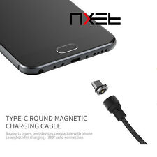 WSKEN Round Magnetic X-Cable Type-C USB C 2.0 Charger Charging Cable