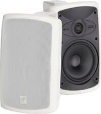 Niles OS7.3 White Indoor Outdoor Patio All Weather Speakers Pair New W/ Brackets