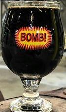 Prairie Artisan Ales Prairie Bomb glasses set of 2 both New!
