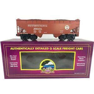 20-90152 MTH Pennsylvania 2-Bay Offset Hopper Car w/Coal Load