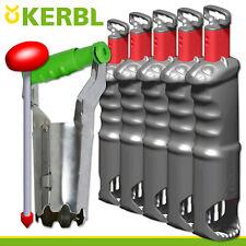 Kerbl 5x Campagnol Volestop + Zubehoerset Schermäuse Jardin Champ Beet