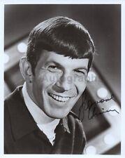 "Leonard Nimoy - Actor: Spock, ""Star Trek"" - Autographed 8x10 Photograph"