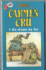 CARMEN CRU n°2 ¤ LA DAME DE FER ¤ 1988 J'AI LU BD 64