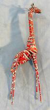 Coke Can Giraffe african art Metal Sculpture 1970s