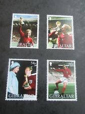 GIBRALTAR 2002 Football World Cup SG 1006-1009 mnh