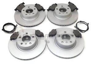 BMW X3 (F25 MODELS) 2011-2017 FRONT AND REAR BRAKE DISCS AND PADS SET & SENSORS