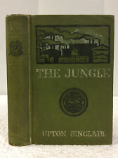 THE JUNGLE By Upton Sinclair- 1906 1st ed. classic expose of meat industry