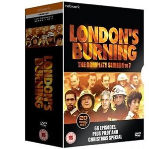 LONDON'S BURNING Complete  Series 1-7     20-Disc      New       Fast  Shipping