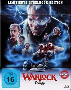 Warlock - Teil: 1 - 3 / Uncut (1989-1999)[Blu-ray im Limited Steelbook/NEU/OVP]