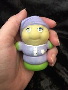 Vintage Glo Friends Glow Worm Toy Hasbro 1985 Figure Glow In The Dark