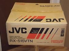 JVC RX-515VTN Stereo Receiver Amplifier Rare NEW In Box 80 Watts a side