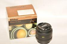 Nikon Nikkor Af 50mm, f1.8D Lens W/Caps,Filter & Box. Beautiful.