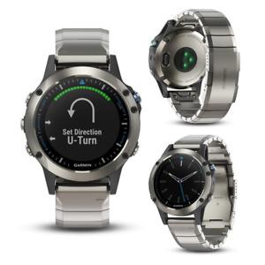 Garmin Quatix 5 Sapphire Edition Metal Band Smart GPS Running Multi Sports Watch