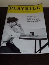 The Glass Menagerie Playbill Feb 2017 Sally Field, Mantello, Finn Wittrock Free