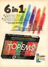 """1959 vintage ad for 'Top-Ems"""" Cake Decoration-467"""