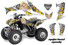 ATV Decal Graphics Kit Quad Sticker Wrap For Honda TRX250X 2006-2018 MOTOMY SLVR