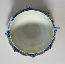 New ListingOne Royal Copenhagen Blue Fluted Lace Chocolate Cup and Saucer Set