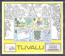 TUVALU H.B. nº 4** Exposición filatélica internacional