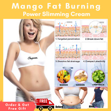 Mango Ginger Anti Fat Slimming Cream Body Cellulite Burning Slim Gel Weight Loss