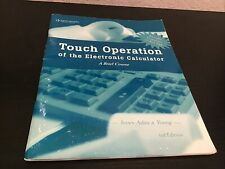 Touch Operation of the Electronic Calculator Arvella Jones-Adair