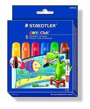 Staedtler Noris Club GEL crayon - Assortiment de couleurs (lot de 6)