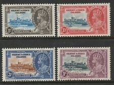 Gilbert and Ellice Is.1935 Silver Jubilee set SG 36-39 Fine used.