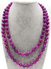 New 8mm Purple Sugilite Gemstone Round Beads Necklace 24/36 Inches