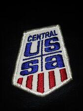 Vtg Ski Central USSA United States Skiing Association Jacket Vest Patch Downhill