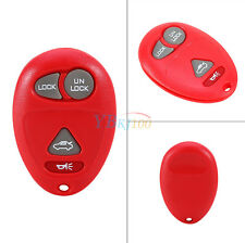 For Buick Rendezvous Replacement Blank Remote Keyless Entry Key Fob Box Red