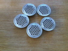 Five 42mm Stainless Steel Air Vents Caravan Motorhome VW Camper 4x4 Vans RV Boat