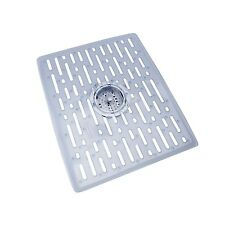 Rubbermaid Evolution Antimicrobial Sink Mat Large Clear New