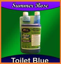Motorhome/Caravan Toilet Blue Chemical Cleaner 40 Uses Camperlife Summer Rose