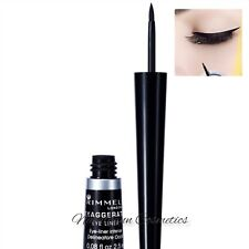Rimmel London Exaggerate LIQUID Eyeliner 001 100%25 Black NEW + FREE POST