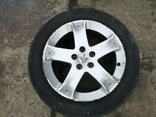 PEUGEOT 407 03-10 ALLOY WHEEL WITH TYRE 5 STUD 215/55R17 181037 1MM
