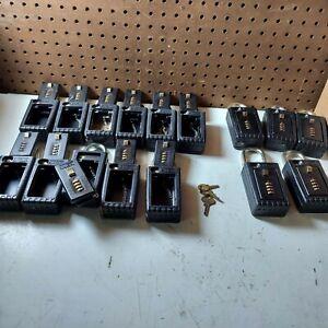 16 Nu.Set Lockbox Lot  Combination Lock Key