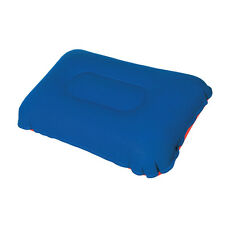 Camping Pillow Inflatable Fabric Feel Head Cushion Travel Hiking