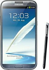 "Samsung Galaxy Note 2 GT-N7105 16GB GSM Unlocked 5.5"" Smartphone Excellent Grey"