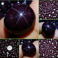 Wholesale Price Lot Natural Star Garnet Cabochon Rarest Loose Gemstone Top Star